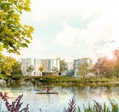 Imagen. Primer Premio. Concurso de viviendas en Aarau por Amann-Cánovas-Maruri + Adelino Magalhaes. Imagen © cortesía de Amann-Cánovas-Maruri.
