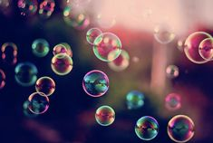 Bubbles | Bubbles happen when you clean the floor on your hands and knees. not.