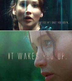 This post is a mess. The quote is from Divergent but the pictures are from The Hunger Games.
