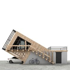 Container House Design, Tiny House Design, Modern House Design, 21st Century Homes, Casas Containers, A Frame House, Tiny House Cabin, Modern Architecture House, Architect Design