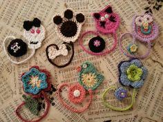 Crochet bookmarks by ennairam Crochet Bookmarks, Crochet Books, Crochet Gifts, Cute Crochet, Beautiful Crochet, Crochet Bookmark Pattern, Yarn Projects, Crochet Projects, Crochet Amigurumi
