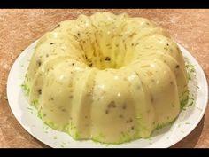 Gelatina de Piña con crema deliciosa - YouTube