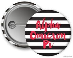 AOII Alpha Omicron Pi Stripe Sorority Greek by BoutiqueGreek