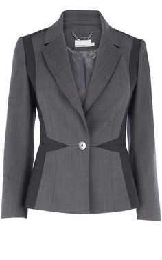 Karen Millen Grey fashion suit jacket