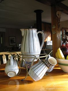 Bourne Denby Coffee Set