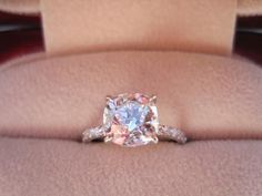 Champagne colored diamond?! Holy cow pretty
