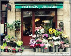 Check out my good friend, Pamela Jane's beautiful travel photos. Flower Shop in Paris by pamelajanegallery, $30.00