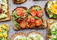 11 EASY and SIMPLE ways to fancy up your healthy breakfast of avocado toast. Avocado Toast, Avocado Salad, Healthy Breakfast Recipes, Healthy Snacks, Healthy Recipes, Healthy Habits, Healthy Choices, Recipe Roulette, Healthy Breakfasts