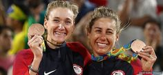 Kerri Walsh Jennings And April Ross Battle To Beach Volleyball Bronze