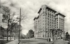 Early 1900s view of Atlanta's historic Georgian Terrace Hotel.