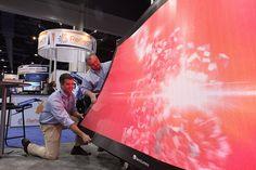 NanoFlex Display at Digital Signage Expo 2012 (via ExpoNation)