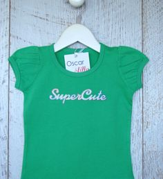 Personalised baby clothing - rompers, tee-shirts, singlet's, name king sets, and tees (long sleeve and short) brought to you by Mi Emporium. Long Sleeve And Shorts, Tee Shirts, Super Cute, Rompers, Babies, Girls, Clothing, Tops, Women