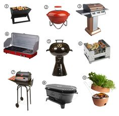Summer Essentials: 9 Grills for Small Spaces. Are you ready for some summer BBQs and entertaining outside?  Check out these 9 small space grills from Apartment Therapy. HotSpot Notebook Charcoal Grill, Bodum Fyrkat Grill, Kenmore 3-Burner Patio Grill, Primus Profile Duo Stove/Grill Combo, m_iGrill Gas Grill, Esbit Foldable Barbeque Box, Patio Pro Charcoal Grill, Lodge Logic Hibachi Grill & the Hot Pot BBQ | #hotpotbbq #bbq #summergrills #esbit #patiopro #hotspotgrill #bodumgrill #iGrill