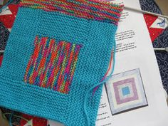 Needlecraft Corner: No Sew Log Cabin Blanket