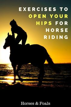 To be a successful rider, you must have an independent seat. In this article, we introduce exercises to open hips for horse riding. Horseback Riding Tips, Horse Riding Tips, Horse Tips, Trail Riding, Riding Gear, Horse Exercises, Equestrian Outfits, Equestrian Style, Equestrian Fashion