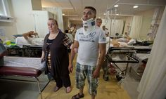 Accident and emergency ward, Athens hospital
