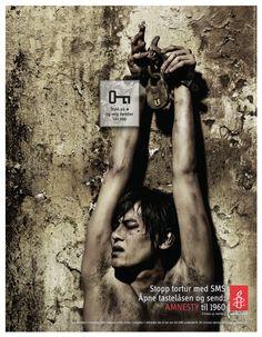 Amnesty ad.