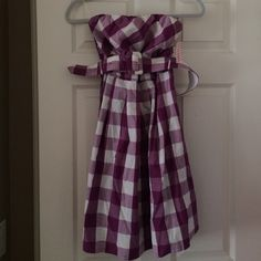 Pretty purple dress New, never worn, tags still attached Daisy Shoppe Dresses