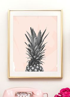 You're the pineapple of my eye, and I have 3 free printable pineapple prints on the blog today! S'cute.