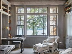 Lakeside Home in Quiet Colors | Traditional Home
