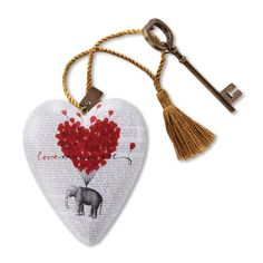 Love Carries All Art Hearts - ART HEARTS - COLLECTABLES
