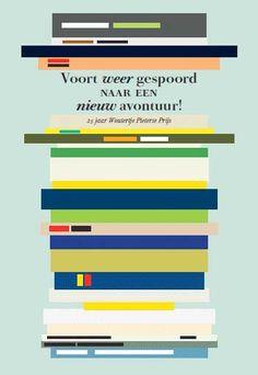 Voort weer gespoord naar een nieuw avontuur! 25 jaar Woutertje Pieterse Prijs