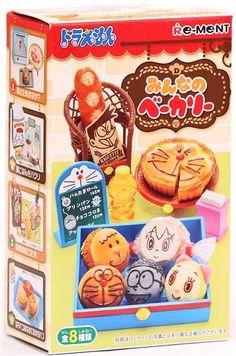 Doraemon Bakery Re-Ment miniature blind box
