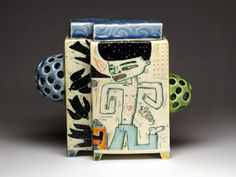Clay Box, Us Swimming, Ceramic Boxes, Archie, Gin, Lunch Box, Container, Pottery, Ceramics
