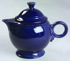 Love this Cobalt Blue teapot.