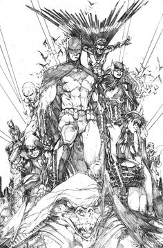 Batman Family by Brett Booth