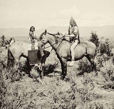 The People of the Horse - Ute Indians