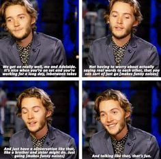 Toby Regbo on his relationship with co-star Adelaide Kane