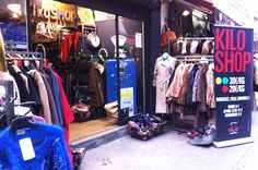 Friperie Kilo Shop rue Saint-Martin Paris