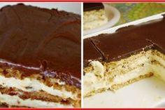 Top 3 cele mai delicioase torturi fără nici o calorie în plus - alegeți-vă desertul dietetic preferat! - Bucatarul Tiramisu, Cookies, Ethnic Recipes, Desserts, Backyard, Candy, Pie, Crack Crackers, Tailgate Desserts