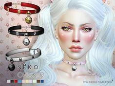 Neko Choker by Pralinesims at TSR • Sims 4 Updates