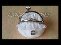 Monedero de ganchillo fácil con forro - Easy crochet purse - Tutorial - YouTube