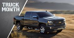 It's time. Get your strong deal on a new Chevy Silverado truck during Truck Month at Chevrolet Cadillac of Santa Fe.  www.chevroletofsantafe.com
