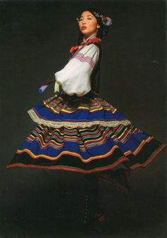 Natsuko w stroju krzczonowskim - czyli etno z poczuciem humoru. Folk Costume, Costumes, Types Of Clothing Styles, Silhouette, The Hundreds, People Of The World, Historical Clothing, Colorful Fashion, Pagan
