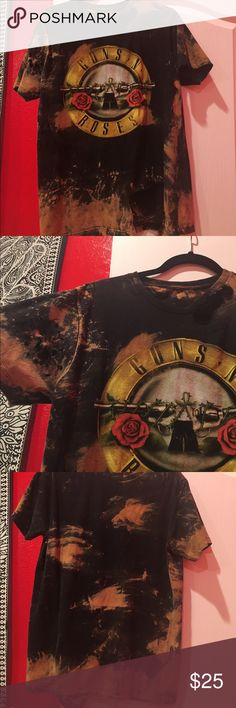 guns and roses long top New hardly worn just trying to get rid of extra stuff Urban Outfitters Tops Tees - Short Sleeve