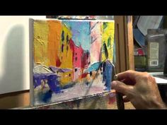 How to Oil Paint: Tips, tricks with the palette knife - YouTube