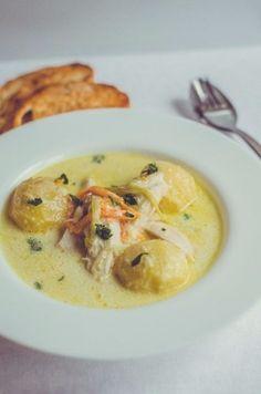 Ватерзой - классический бельгийский суп  WATERZOOI - classic Belgian soup