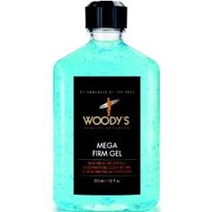 Woody's Quality Grooming Mega Firm Gel Hair Styling Creams, (gels, styling product, woodys)