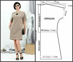 ideas for womens clothing fashion sewing patterns Dress Sewing Patterns, Sewing Patterns Free, Free Sewing, Sewing Tutorials, Clothing Patterns, Sewing Projects, Sewing Ideas, Diy Projects, Women's Clothing