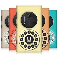HEAD CASE DESIGNS RETRO PHONE PROTECTIVE BACK CASE COVER FOR NOKIA LUMIA 1020 #HeadCaseDesigns