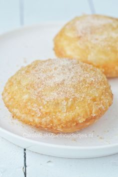 Appel beignets Dutch Recipes, Sweet Recipes, Baking Recipes, Cookie Recipes, Dessert Recipes, Beignets, Bake My Cake, Pie Cake, Cake Cookies