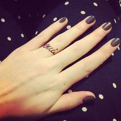 """Oui"" for ""yes"" on being positive!!! #loveit #tattoo #fashionblogger #dariakunilovskaya - @daria_kunilovskaya- #webstagram"