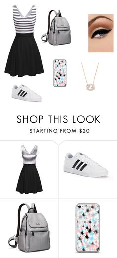 """""""Escola"""" by clarallado on Polyvore featuring adidas and Avon"""