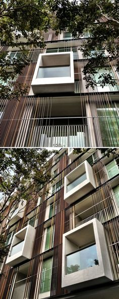Via 31 Condominium_Facade by Somdoon Architects