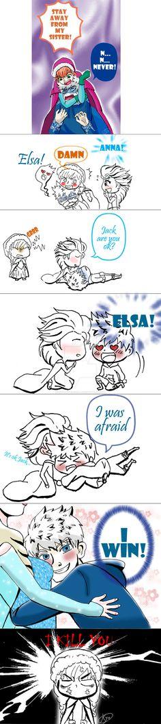 Revenge of Jack Frost by KYOooTERCERA.deviantart.com on @DeviantArt