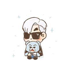 [fanart] Hello, Choi-vember  #TOP #BIGBANG